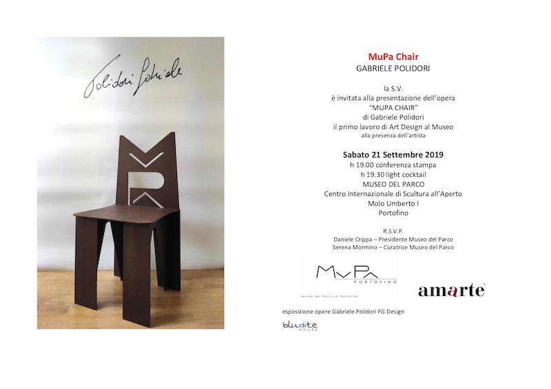 MuPa Chair presentazione Portofino