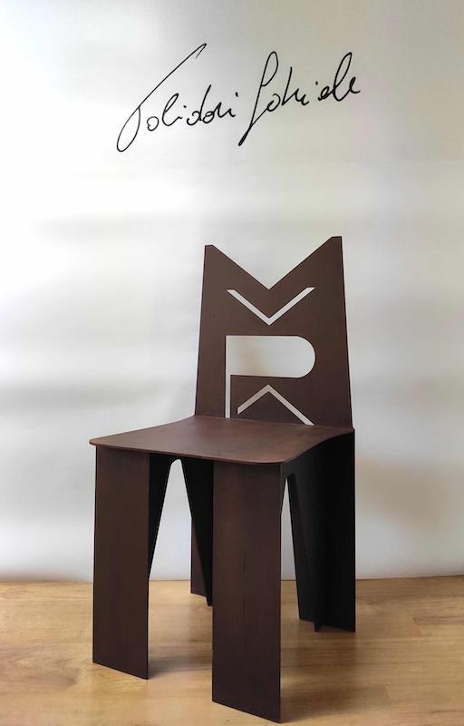 Presentazione MuPa Chair di Gabriele Polidori al Museo del Parco di Portofino